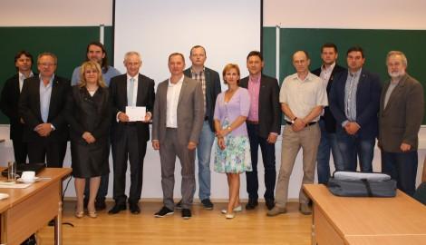 Na początku posiedzenia skład Forum oficjalnie zostali przyjęci nowi członkowie ― spółki ze stolicy i Solecznik Fot. archiwum