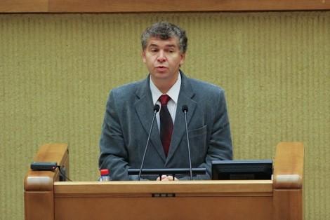 Prof. Valdas Rakutis Fot.lrs.lt