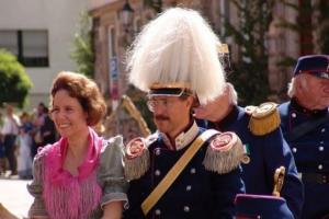 Książę Inigo von Urach wraz z małżonką Danielą podczas wizyty na Litwie w 2009 roku Fot. archiwum