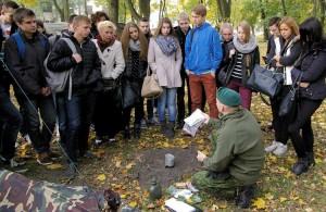 Sztuki przetrwania też się można przy okazji nauczyć Fot. kpt. Marius Zapalis