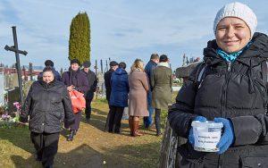 Kwesta na rzecz Starej Rossy odbyła się również na Wileńszczyźnie Fot.Marian Paluszkiewicz