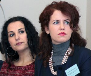 Dr Elżbieta Kuzborska (od prawej) Fot. Marian Paluszkiewicz