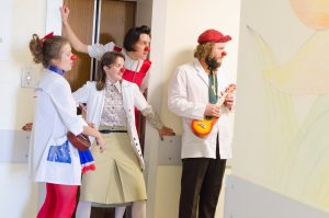 W organizacji pracuje zatrudniony na pełny etat zespół składający się z dziewięciu profesjonalnych lekarzy-klaunów Fot. archiwum