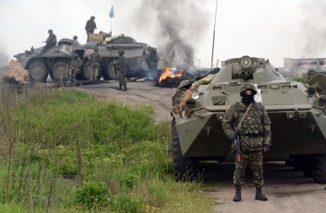Po spokojniejszej sytuacji na Ukrainie we wrześniu i październiku w listopadzie ataki znów się rozpoczęły Fot. archiwum