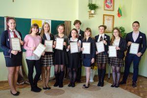 Zwycięzcy Olimpiady muzyki zostali nagrodzeni dyplomami i upominkami Fot. W. Klimaszewski