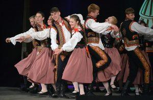 """ZTL """"Kukułeczka"""" na otwarciu VII Międzynarodowego Festiwalu """"Polski Folklor w Łatgalii"""" Fot. archiwum"""
