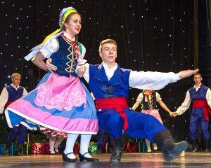 W przededniu świąt tańczyły i śpiewały krasnoludki Fot. Marian Paluszkiewicz