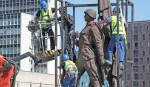 Powraca sprawa sowieckich rzeźb z wileńskiego Zielonego Mostu