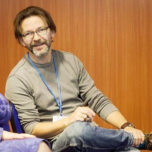 Egdūnas Račius podkreśla, że w rozmowach o problemie uchodźców błędnym jest akcentowanie aspektu religijnego Fot. ELTA