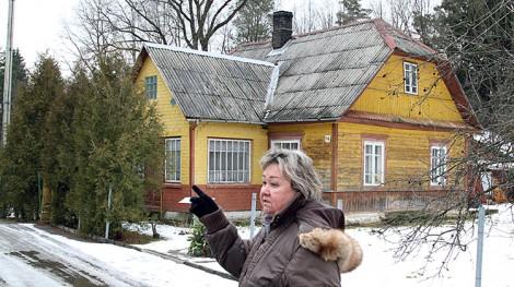Ksiądz Michał Sopoćko w czasie wojny przez ponad dwa lata ukrywał się w tym domu w Czarnym Borze Fot. Marian Paluszkiewicz