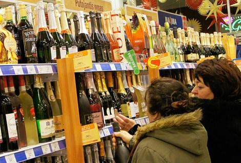 Dodatkowe zyski ze sprzedaży alkoholu w 2016 r. miałyby sięgać 8 mln euro Fot. Marian Paluszkiewicz