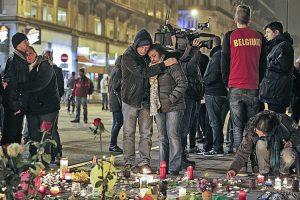 Według dotychczasowych informacji w zamachach w Brukseli zginęły co najmniej 34 osoby Fot. EPA-ELTA