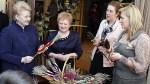 Prezydent zachwycona warsztatami wielkanocnymi w Niemenczynie