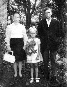 Mama Janina z tatą Władysławem i córką Janiną (rok 1972)  Fot. archiwum rodzinne
