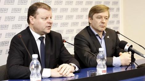 """Skvernelis zostanie na stanowisku dopóki partia """"Porządek i Sprawiedliwość"""" przedstawi innego kandydata Fot. ELTA"""