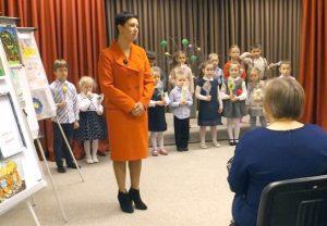 Uczestników przywitała dyrektor żłobka-przedszkola w Mejszagole Ivona Marija Matveiko