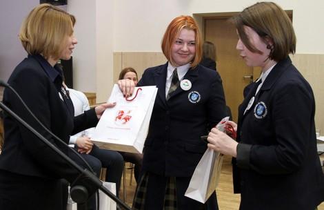 W olimpiadzie uczestniczyło 31 uczniów 11-12 klas. Rejon wileński reprezentowało 11 uczniów Fot. Marian Paluszkiewicz