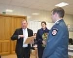 Dwaj dzielni policjanci zostali odznaczeni przez władze rejonu wileńskiego