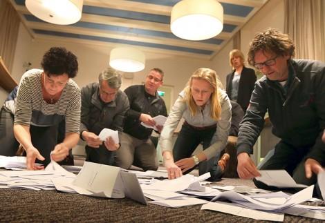 Negatywne wyniki referendum nie wynikają z wyjątkowej niechęci Holendrów do Ukrainy Fot. EPA-ELTA