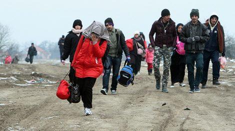 Na razie nie ustalono, kiedy na Litwę przybędzie kolejna grupa uchodźców Fot. EPA-ELTA