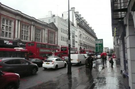Baker Street — londyńska ulica w dzielnicy City of Westminster Fot. Justyna Giedrojć