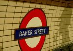 Wizerunki Sherlocka Holmesa zdobią ściany podziemnych tuneli Fot. Justyna Giedrojć