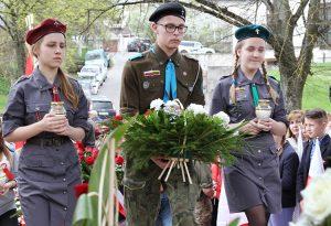 O rocznicy Konstytucji 3 Maja tradycyjnie pamiętali również harcerze Fot. Marian Paluszkiewicz
