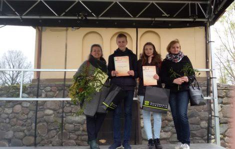 Trzecie miejsce zajęła Guoda Taučiutė, a zwyciężył w konkursie Ernestas Gulbickis z niemeńczyńskiego gimnazjum im. Konstantego Parczewskiego