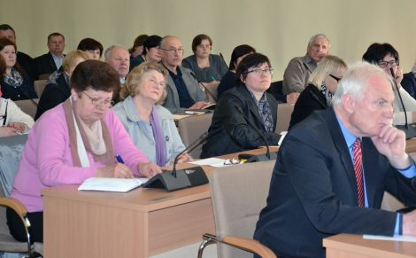4 maja w samorządzie rejonu wileńskiego odbyło się spotkanie starostów i pracowników gmin/fot.vrsa.lt