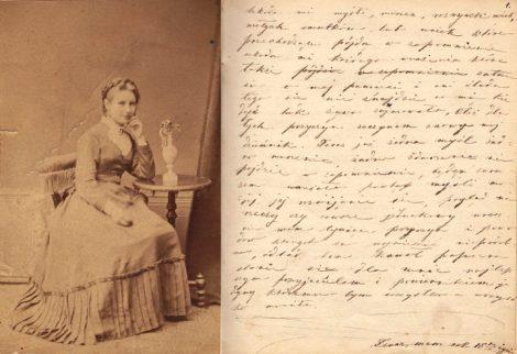 Maria Szetkiewiczówna pamiętnik prowadziła w latach 1869-1873 Fot. archiwum