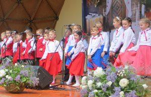 """W """"Małych Solczanach"""" udzielają się nawet sześciolatkowie Fot. Anna Pieszko"""