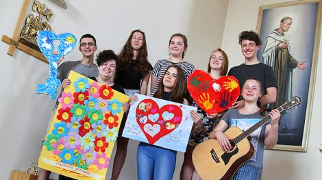 Najbardziej aktywna grupa młodzieży, która pojedzie do Krakowa Fot. Marian Paluszkiewicz