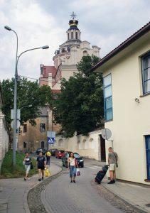 W ciągu całej wojny kościół i klasztor jezuitów były najsilniejszym punktem oporu polskiego podziemia  Fot. Marian Paluszkiewicz