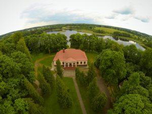 Będzie odnowiony krajobraz dworu w Pikieliszkach Fot.vrsa.lt