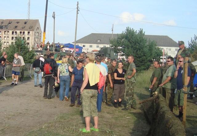 Borne Sulinowo co roku w sierpniu ściąga tysiące pasjonatów militariów z całej Europy Fot. Krzysztof Subocz
