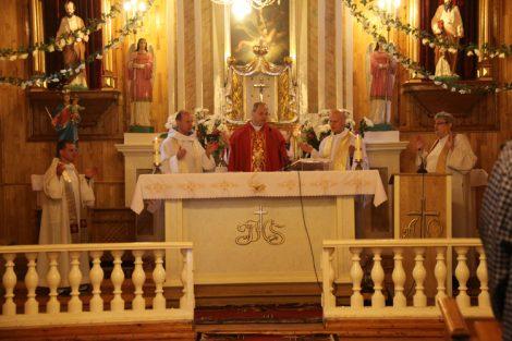 Pielgrzymkę rozpoczęto uroczyście celebrowaną Mszą św.