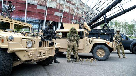 Kilkanaście tysięcy funkcjonariuszy różnych służb będzie czuwało nad bezpieczeństwem przywódców, którzy przybędą do Warszawy na dwudniowy szczyt NATO Fot. mon.gov.pl