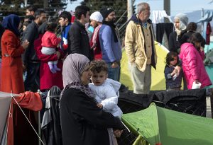 Litwa może miesięcznie przyjąć nie więcej niż 50 uchodźców Fot. EPA-ELTA