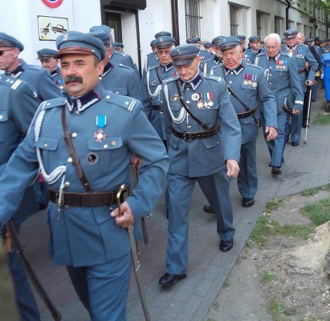 Uroczysty pochód piłsudczyków Fot. Alina Sobolewska