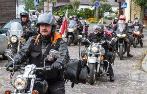 Około 50 motocyklistów przyjechało do Trok Fot. Marian Paluszkiewicz
