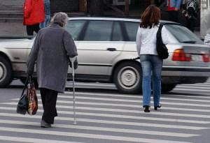 Przestrzeganie elementarnych zasad ruchu drogowego może uratować życie Fot. Marian Paluszkiewicz