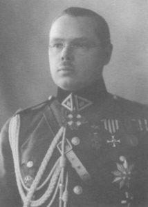 Pierwszy Radca Generalny Litwy, generał Petras Kubiliunas — zdjęcie z roku 1934 Fot. archiwum
