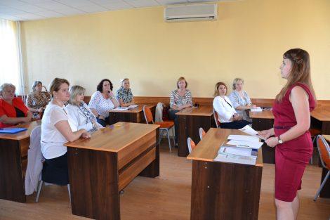 Podczas spotkania do udziału w programie zaproszono chętne przedszkola rejonu wileńskiego Fot. vrsa.lt