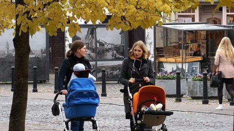 Obecnie taki skok demograficzny, jak po wojnie, jest raczej niemożliwy, chyba że każda rodzina na Litwie miałaby co najmniej po troje dzieci Fot. Marian Paluszkiewicz