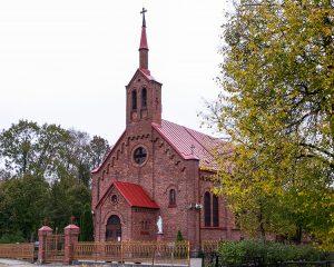Kościół katolicki pw. Świętego Krzyża w Szyłokarczmie Fot. Marian Paluszkiewicz