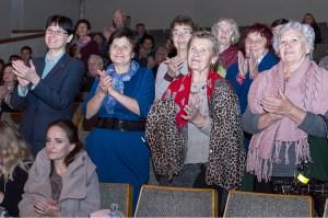 """Reakcja widzów na każdy występ """"Wilii"""" była nadzwyczajna Fot. Marian Paluszkiewicz"""