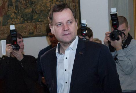 Waldemar Tomaszewski powiedział, że AWPL-ZChr mogłaby być w koalicji ze zwycięzcami, jednak to nie jest głównym celem polskiej partii  Fot. Marian Paluszkiewicz