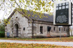 Budynek dawnej karnej celi więziennej Fot. Marian Paluszkiewicz