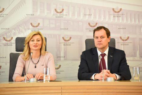 """""""Prawa mniejszości na Litwie powinny być uregulowane tak, jak w zachodnich demokracjach"""" — podkreślił Waldemar Tomaszewski Fot. Wiktor Jusiel"""