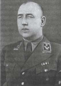 Gebietskommissarz Wilna Hingst Fot. archiwum